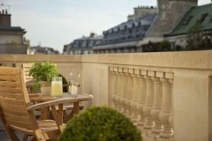 Résdence 508 terrasse détail balustrades